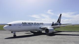 Photo handout from Air NZ of the Boeing 777-200
