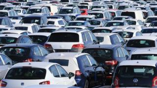 New cars, as more than 1.3 million new cars were sold in the UK in the first six months of the year,