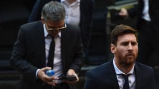 فوتبال، مسی، اسپانیا