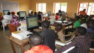 School pickin dem for computer training