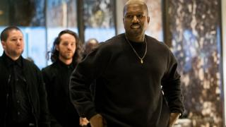 America rapper Kanye West