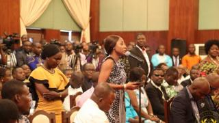 Ghanaian journalists for Flagstaff House during media encounter