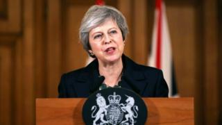 May at Downing Street