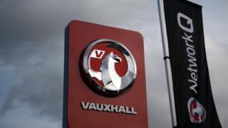 Vauxhall sign