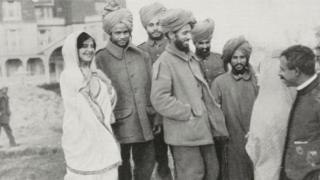 మొదటి ప్రపంచ యుద్ధంలో భారత సైనికులు