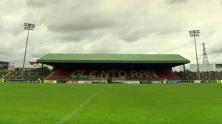 Glentoran stadium