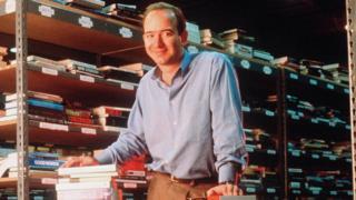 アマゾンが上場した1997年当時のベゾス氏