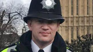 PC Keith Palmer was unarmed as he was attacked by Khalid Masood