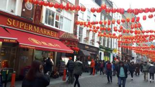 Gerrard Street in Chinatown