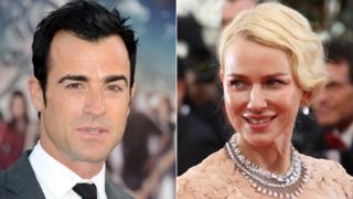 Justin Theroux and Naomi Watts