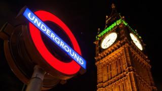 ป้ายรถไฟใต้ดินลอนดอน