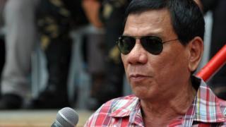 Mr Duterte ya ce sun fasa siyo bindigogi daga Amurka