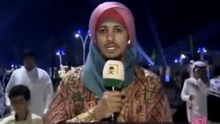 المذيع في القناة الأولى السعودية، خالد الجبر،