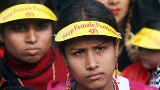 India campaign against female foeticide