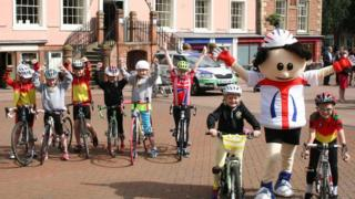 Cycle event in Carlisle
