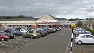 Sainsbury's at Kingsgate in East Kilbride