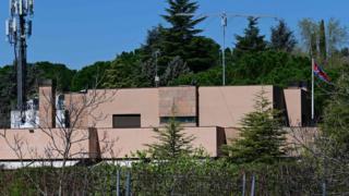 North Korea's Madrid embassy