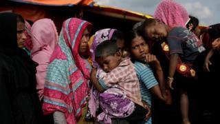 Беженцы Рохинджа