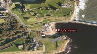 Aerial view of Prior's Haven