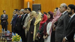 مراسم گشایش اتاق تجارت و صنایع زنان افغانستان