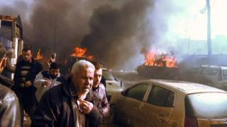 ระเบิดรถยนต์โจมตีที่ด้านนอกศาลเมืองอาซัส