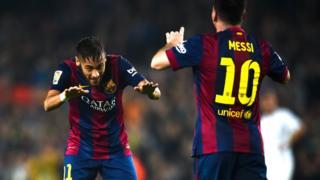 Messi et Neymar sont nominés pour le Prix Puskas FIFA 2016.
