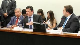 Sergio Moro participa de audiência conjunta de comissões da Câmara