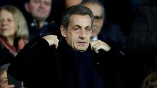Former President of France Nicolas Sarkozy pictured in January 2018