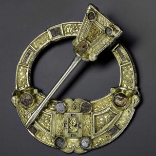 Hunterston Brooch, Ayrshire, 8th century AD, National Museums Scotland