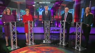Leaders at Channel 4 climate debate