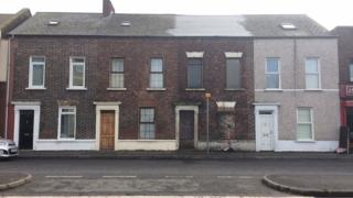 The last remaining original houses of Sailortown in Garmoyle Street
