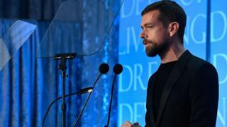 Twitter's chief executive, Jack Dorsey