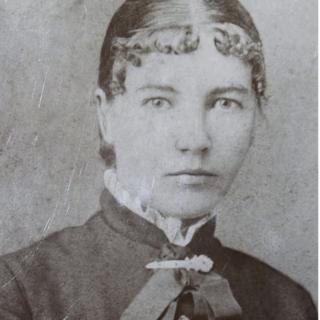1887年に教師として働いていた当時のワイルダーの写真