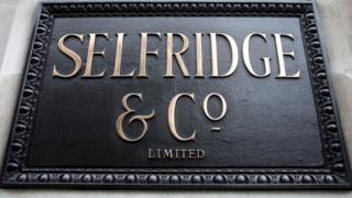 Signed by Selfridges