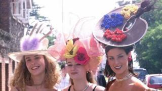 皇家賽馬會上的女禮帽