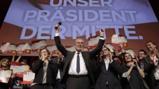 Cumhurbaşkanlığı seçiminin galibi Alexander Van der Bellen