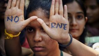 India rape protest - file photo