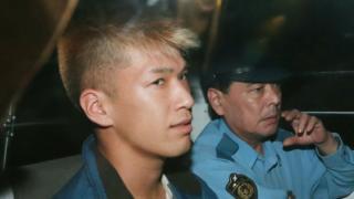 Satoshi Uematsu when he was detained in 2016