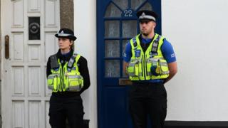 There was police activity in the Grangetown and Riverside areas of Cardiff on Thursday afternoon but Metropolitan Police refused to confirm if it was linked to the arrest