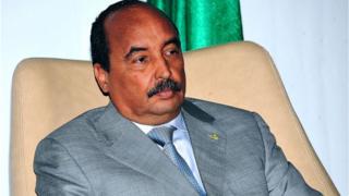 Mohamed Ould Abdel Aziz, le président mauritanien