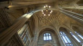 Interior of Wakefield Cathedral
