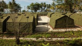 Australia's detention centre on Papua New Guinea's Manus Island, pictured in 2012