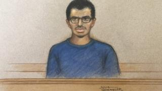 Hashem Abedi on trial at the Old Bailey