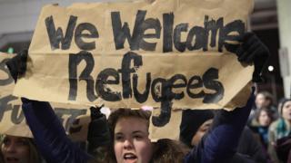 Pemrotes di AS