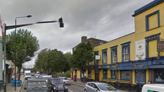 Screenshot of Hawley Road , Camden