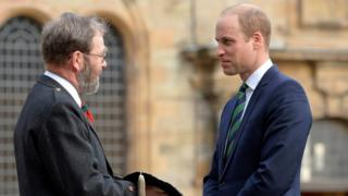 Prince William and another male