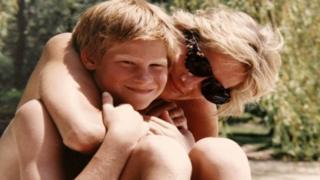 Pangeran Harry dan Putri Diana