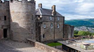 قلعة ستيرلينغ في اسكتلندا