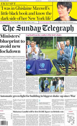 The Sunday Telegraph 2 August