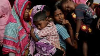 Rohigya refugees